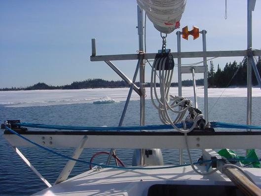 Fast Ice Isle Royale