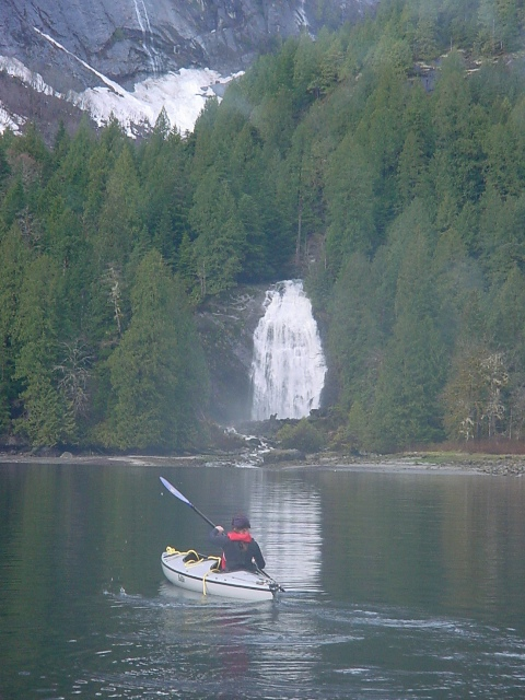 The Gray Ghost at Chatterbox Falls