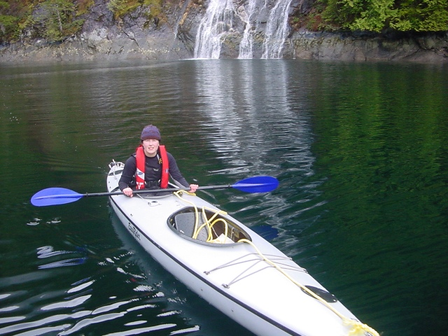 Kari in the Gray Ghost, Princess Louisa Inlet BC